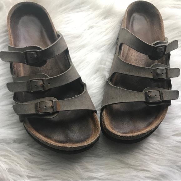 """cdb219db922 Birkenstock Shoes - Birkenstock """"Florida"""" soft footbed sandals"""